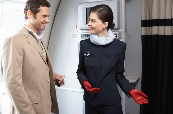 Le salaire d'une hôtesse de l'air Air France long courrier